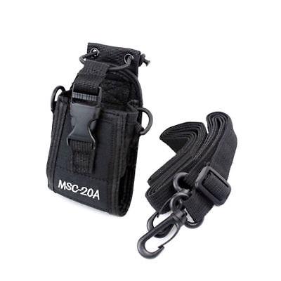 Msc 20A For Motorola Kenwood Walkie Talkie Holder Pouch Case Bag 2 Way Radio Us