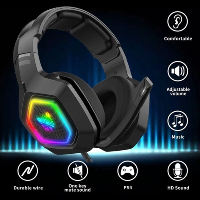 ONIKUMA Stereo Bass Surround Gaming Headset for Playstation 4 PS4 Xbox with Mic