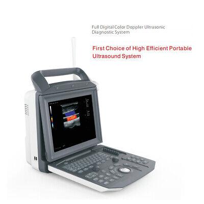 Ce Iso Full Digital Portable Ultrasound Color Doppler Ultrasound Machine
