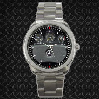 Only One 1980 Mercedes Benz SL Class 450 SL Roadster Sport Metal Watch