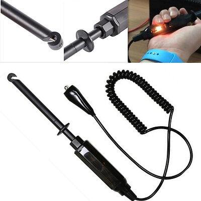 Car Vehicle Electric Circuit Tester Dc 6v12v24v Test Pencil Light Hook Probe