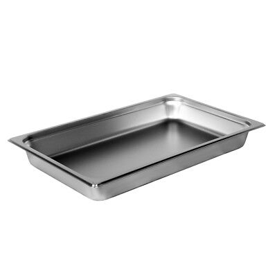 Steam-table Pan Stainless Full Size 12-34 X 20-34 22 Gauge Size 2-12
