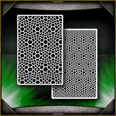 Alien Skin B Airbrush Stencil Template Paint Airsick