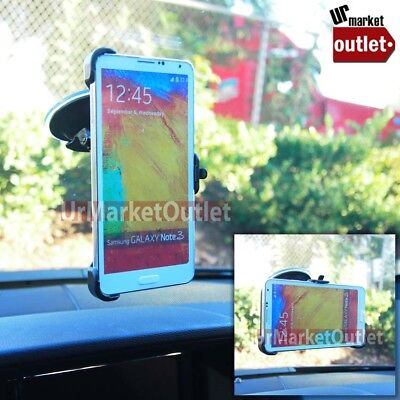 Car Suv Windshield Small Mobile Mount Holder For Samsung Galaxy Note S Edge Plus