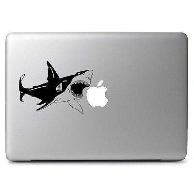 """Shark Vinyl Decal Sticker for Apple Macbook Air & Pro 11 12 13 15 17"""" Laptop"""