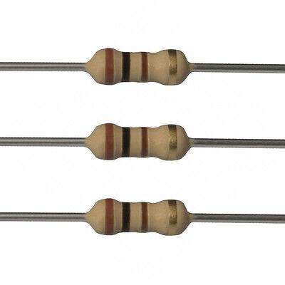 10 X 100 Ohm Carbon Film Resistors - 12 Watt - 5 - 100r - Fast Usa Shipping