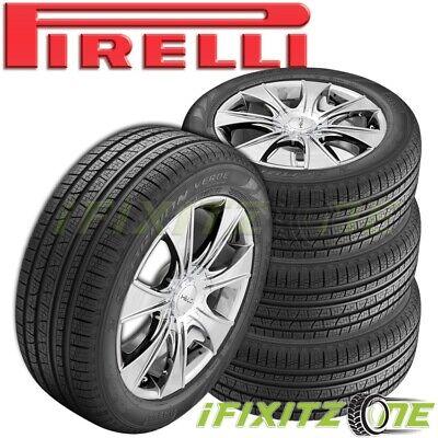 4 Pirelli Scorpion Verde All Season Plus 255/55R18 109V Performance SUV CUV Tire