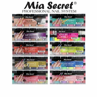 Powder Set - Mia Secret Nail Art Acrylic Collection Powder 6 Colors Set - PICK YOUR SET