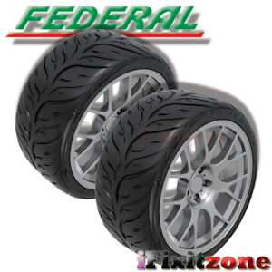 2 Federal 595RS-RR 275/35ZR19 Ultra High Performance Tires
