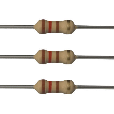 25 X 120 Ohm Carbon Film Resistors - 12 Watt - 5 - 120r - Fast Usa Shipping