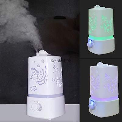 1.5L Ultrasonic Home Aroma Humidifier LED Air Diffuser Purifier Lonizer Atomizer