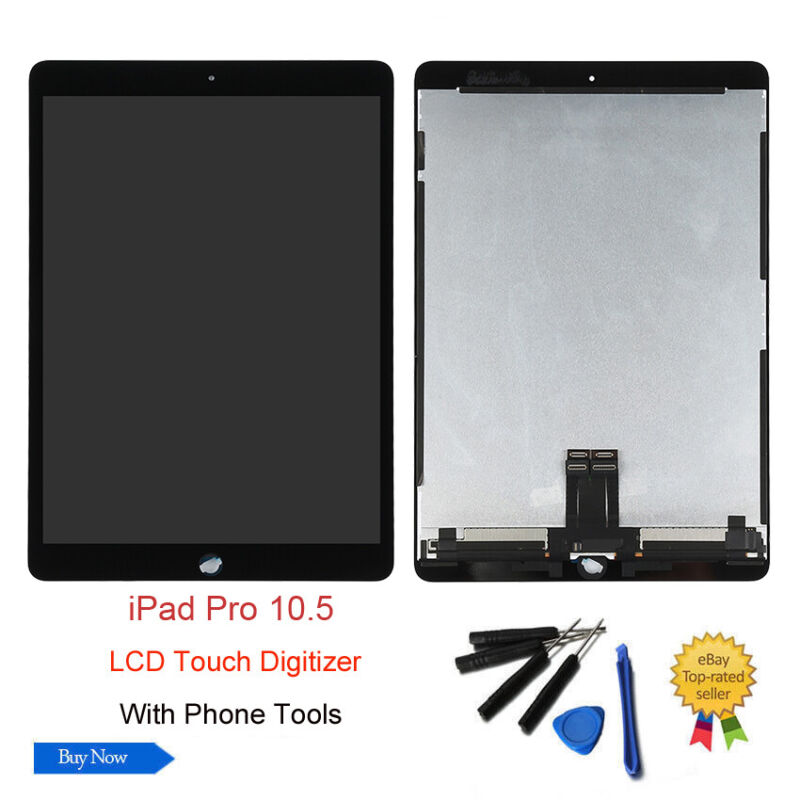 For iPad Pro 10.5 Black LCD Display Screen Touch Digitizer Replacement Assembly