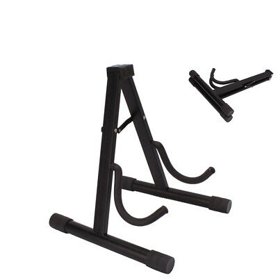 Foldable Guitar Floor Stand Holder A Frame Universal For Acoustic Electric Bass