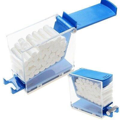 Dentist Fresh Dental Cotton Roller Box Dispenser Press Type For Clinic Lab Ce
