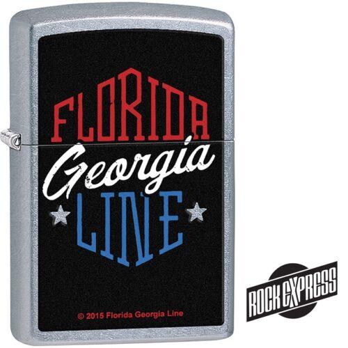 Zippo Lighter Florida Georgia Line Rock Express Street chrome Limited Edition