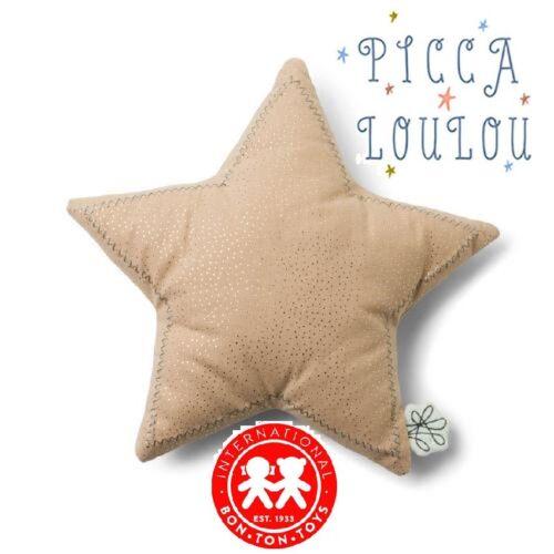 Picca Loulou - Form-Kissen - Star 9 13/16in - International Bon Ton Toys - Pink