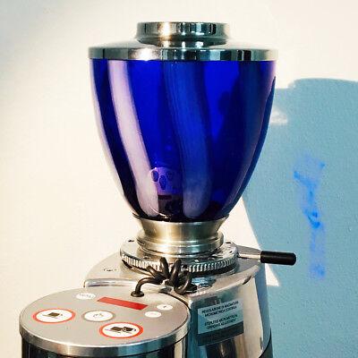 Torr Toys Glass Hopper 600 Blue White Stripes - Mazzer S2 Konymazzer Zm Filter