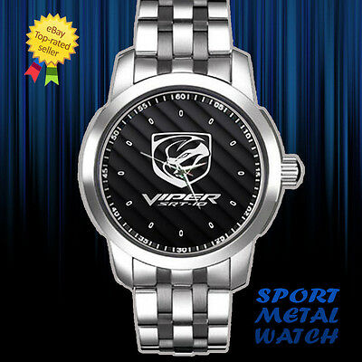 2013 Dodge Viper SRT 10 Roadster Logo Sport Metal Watch