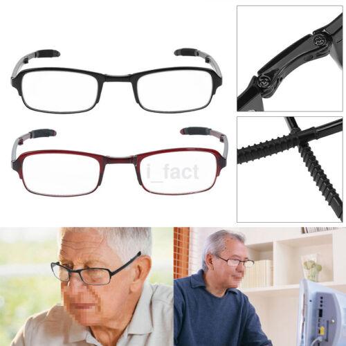 Folding Reading Glasses Foldable Eyeglass W/Box +1.0 +1.5 +2.0 +2.5 +3 +3.5 +4.0