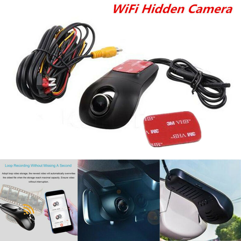 Car Hidden Wifi Recorder DVR Camcorder Camera Video Dash Cam Night Vision Logger