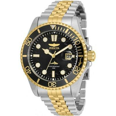Invicta 30618 Pro Diver 43MM Men's Gold-Tone and Silver Stainless Steel Watch