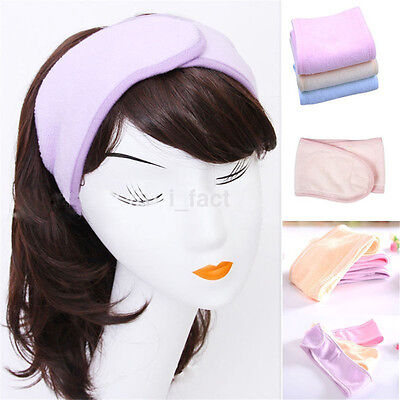 Multicolor Adjustable Elastic Wash Face Makeup SPA Stretch Hair Band Headband
