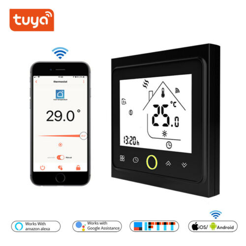 WiFi Controlled Thermostat Boiler /Water/ Electric Underfloo