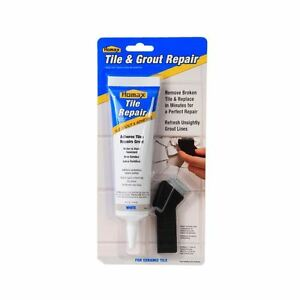 Homax Home Improvement Two Step Tile Grout Repair Kit DIY ...