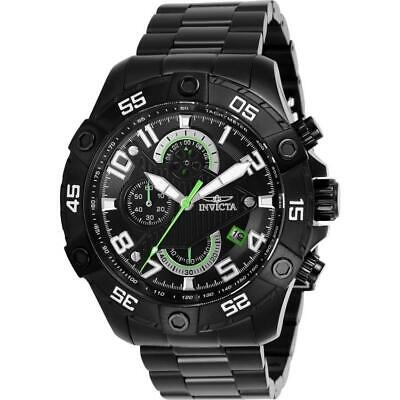 Invicta S1 Rally 26101 Men's Round Black & Green Analog Chronograph Date Watch