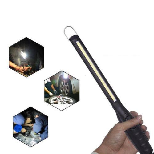80000 Lumens Rechargeable COB LED Slim Work Light Ultra Bright Lamp Flashlight