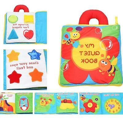 Multi Dimensional My Quiet Book Baby Plush Toy Gift Color Solf Game Story Book. for sale  Shipping to Canada