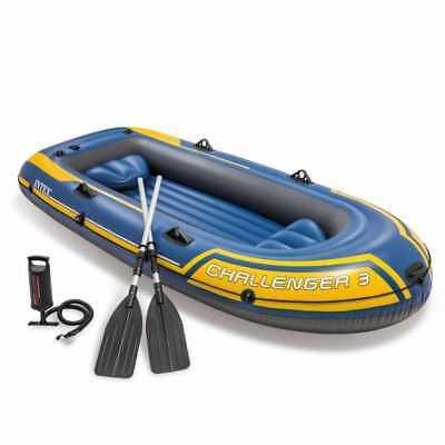 Intex Schlauchboot Set Challenger 3 Art 68370.Retourenware Karton Beschädigt