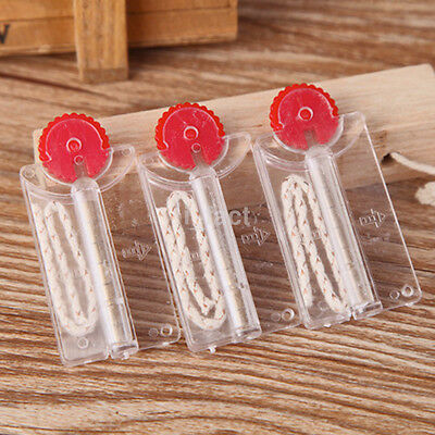 2PCS Cigarette Lighter Flints Stones +Cotton Core Replacement in Dispenser CA