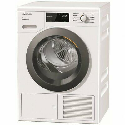 Miele TCF640 WP Lotus White Condenser Dryer with Heat Pump Technology 8KG A+++