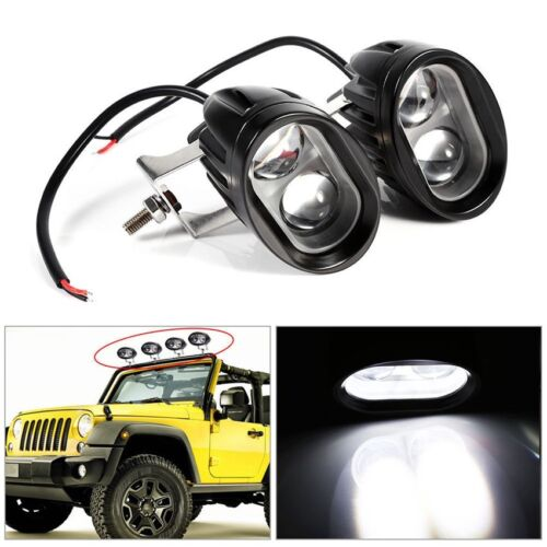 2Pcs 18W Spot Led Bar Off Road Driving Lights for Jeep SUV Truck Boat Motorcycle