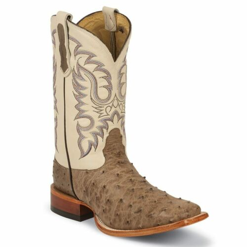 Nocona, Mens, Mink, Full, Quill, Ostrich, Western, Cowboy, Boot, Square, Toe, -, MD6505
