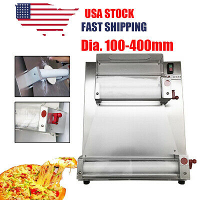 Commercial 15.7 Automatic Electric Pizza Dough Roller Sheeter Making Machine