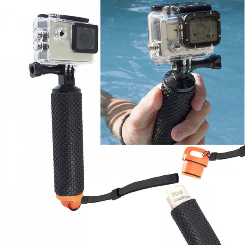 Floating Hand Handle Grip Strap Mount Diving for GoPro Hero 6 5 4 3+ 3  2 SJCAM