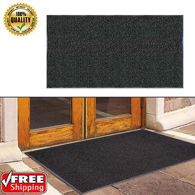 "Commercial Outdoor Entrance Floor Mat Non Slip Rubber Indoor Entry Rug 60"" x 36"""