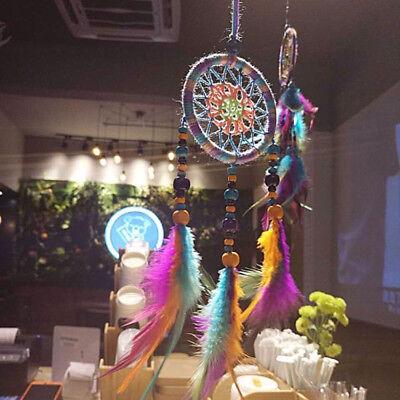 Colorful Handmade Dream Catcher Net Hanging Home Car Decoration Decor Craft Gift