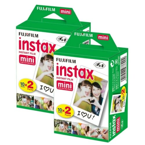 40 Fujifilm Instax Mini Instant Film Polaroids for Mini 8 Mini 9 -Mini 11