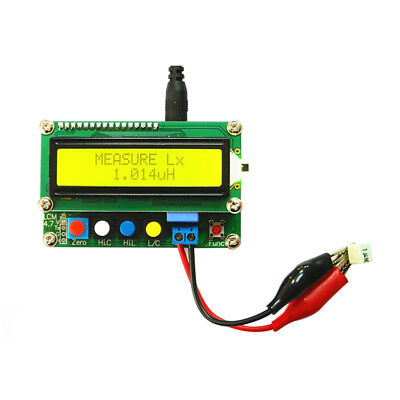 Digital Lcd Capacitance Meter Inductance Table Tester Lc Meter Frequency 2018