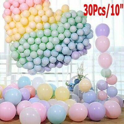Pastel Colored Candy (30Pcs Pastel Latex Balloons 10