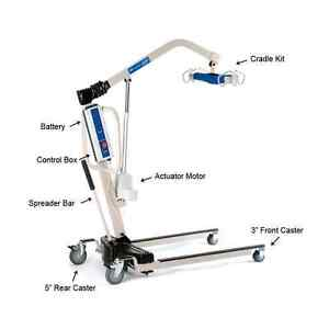 INVACARE  Reliant 450-1 Battery Powered Patient Lift with Sling