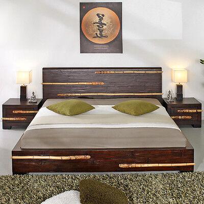 Bett 140x200 Rattan Betten Wasserhyazinthe Rattanbett Mobel Neu Nizza