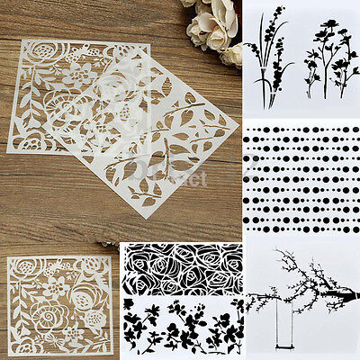 Novelty Layering Stencils Template for DIY Scrapbooking Album Paper Card Craft
