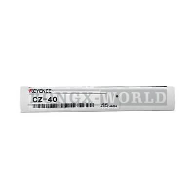 One New Keyence Cz-40 Rgb Digital Fiber Sensor