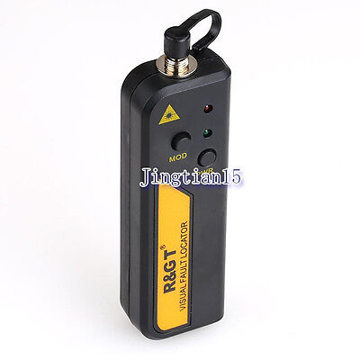 Mini Fiber Optic Laser Visual Fault Locator Optical Laser Cable Test For 30km