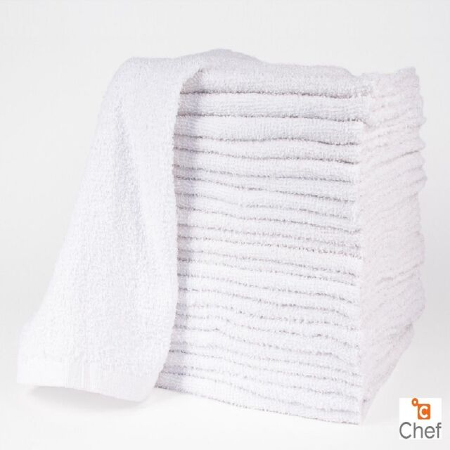 Restaurant Kitchen Towels 12 cotton white terry cloth restaurant bar mops premium kitchen