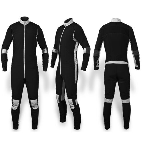 Skydiving Jumpsuit Latest design Black and White Suit